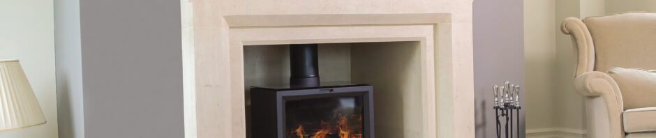 Summer installation of an Elite Stratford fireplace